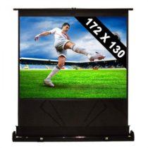 FrontStage QSFC-86, vyťahovacie 218 cm projekčné plátno na zem, 172x130 cm, 4:3