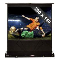 FrontStage QSFC-100, rozkladacie 254 cm premietacie plátno, 200 x 150 cm, 4:3