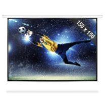 FrontStage PSBB-80, 203 cm rolovacie premietacie plátno, 150 x 150 cm, 1:1