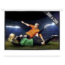 FrontStage PSEB-112, premietacie plátno, 200 x 200 cm, 284 cm