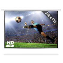 FrontStage PSED-108, rolovateľné premietacie plátno, HDTV