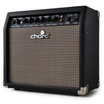 Zosilňovač elektrickej gitary Chord CG-15, 20 cm, overdrive
