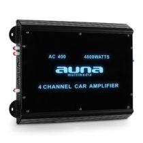 Auna W2-Ac400, 4–kanálový zosilňovač do auta, 4000 W