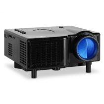 Auna Mini LED projektor, VGA, AV, čierny
