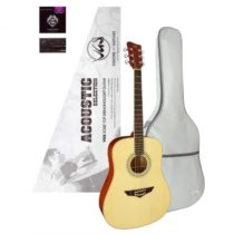 Gitara VGS Acoustic Selection Mistral Pack, puzdro, ladička