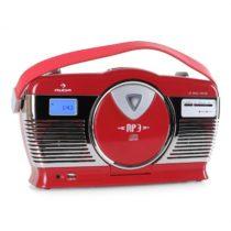 Auna RCD-70RE, retro rádio,FM, USB, CD, batéria