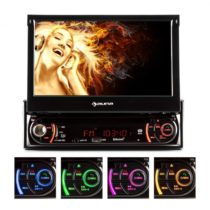 Autorádio Auna MVD-240, DVD, CD, MP3, USB, SD, AUX, 7''