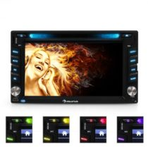 Moniceiver Auna MVD-480, DVD, CD, MP3, USB, SD, HD, 6,2''