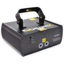Beamz LS-RB11, červeno-modrý laser, gobo, DMX