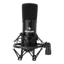 Auna CM001B štúdiový mikrofón čierny, kondenzátorový