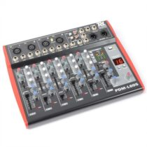 Power Dynamics PDM-L605, 6-kanálový mixážny pult, USB, AUX,