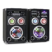 Skytec KA-06, 400W, sada aktívnych PA karaoke reproduktorov