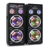 Skytec KA-210 aktívny karaoke PA reproduktorový set, USB, SD