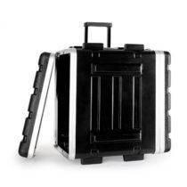 "FrontStage ABS-Trolley flightcase, rack case, kufor, 19"", 4 U"