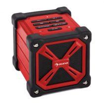 Auna TRK-861, bluetooth reproduktor, batéria, červený