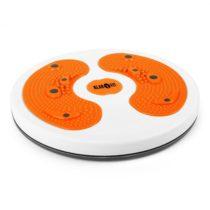 KLARFIT myTwist Body Twister, rotana, masáž chodidiel, oranžová