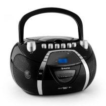Auna Beeboy, rádio rekordér, CD, MP3, USB, čierny