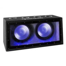 "Auna Cannonbeat TX12, 2 x 30 cm (12""), 2 x 300 W, LED, pasívny auto subwoofer"
