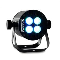 Beamz LED PAR svetelný efekt, 4 x 8 W RGB LED, DMX
