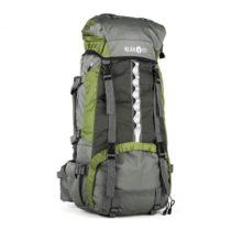 Klarfit Heyerdahl-2014, turistický ruksak 70 l, prístup zhora, zelený