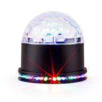 Ibiza UFO-ASTRO-BL, LED svetelný efekt, RGB, čierny