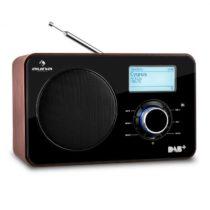 Auna Worldwide internetové rádio, sieťový prehrávač, WLAN/LAN, DAB/DAB+, FM, USB, AUX