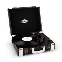 Auna Jerry Lee, retro gramofón, LP, USB, čierno-biely