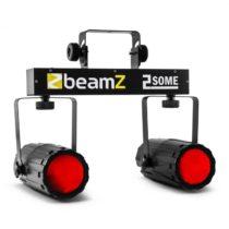 Beamz 2-Some, sada dvoch LED-reflektorov v RGBW s mikrofónom
