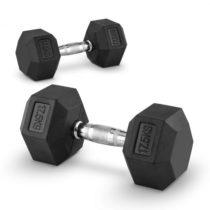 Capital Sports Hexbell 17,5, 17,5kg, dvojica krátkoručných činiek (dumbbell)