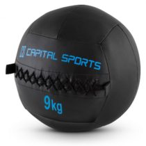 Capital Sports Epitomer Wall Ball Set, čierny, 9 kg, koženka, 5 kusov
