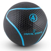 Capital Sports Medba 4, čierny, medicinbal 4kg guma