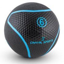 Capital Sports Medba 6, čierny, medicinbal 6kg guma