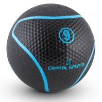 Capital Sports Medba 9, čierny, medicinbal 9kg guma