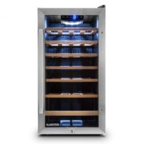 Klarstein Vivo Vino 26, 88 litrov, chladiaca vinotéka, 26 fliaš, nerezová oceľ, LED
