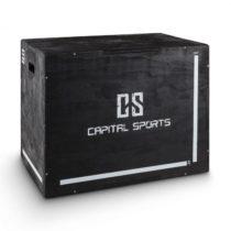"Capital Sports Shineater, čierny, Plyo Box s tromi výškami 20"" 24"" 30"""