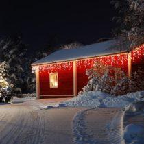 Blumfeldt Dreamhouse SM8W, teplá biela, 8 m, 160 LED, vianočné osvetlenie