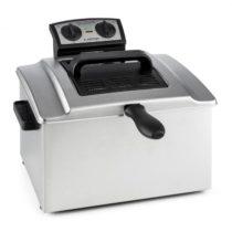Klarstein QuickPro XXL 3000, 3000 W, 5L, fritéza z nehrdzavejúcej ocele, 1,5 kg, časovač