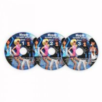 Auna Karaoke CD+G Set, sada 3 ks