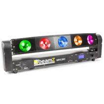 Beamz MHL510 Color Sweeper, svetelný efekt, 5 x 10 W, Quad Cree LED