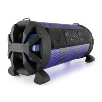 Auna Thunderstorm, mobilný bluetooth reproduktor, 120 W, akumulátor, USB, SD, LED