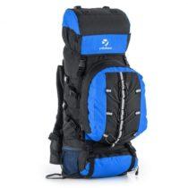 Yukatana Almer, modrá/čierna, trekingový ruksak, 80 l, 40 x 80 x 35 cm, malý batoh