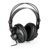 Auna HR-580 štúdiové slúchadlá over-ear slúchadlá uzavreté, červená farba