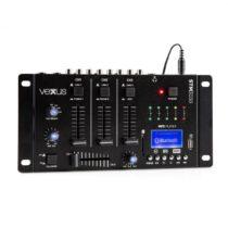 Vexus STM3030, 4-kanálový mixážny pult, bluetooth, USB, SD, MP3, LED