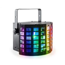Beamz Radical, 2-v-1 LED reflektor, derby & laser, RGBAWP LED diódy, DMX