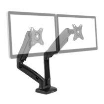 """Auna LDT-C024USB, držiak pre dva monitory, dvojramenný držiak, LED/LCD do 27"""", 2 x 6kg"""
