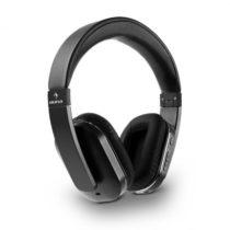 Auna Elegance Bluetooth-NFC slúchadlá, aptX, nabíjacia batéria, handsfree, syntetická koža, čierna f...