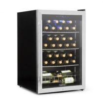 Klarstein Falcon Crest chladnička na nápoje, presklené dvere, 4-18°C, 128l, zámok, 42dB, ušľachtilá ...