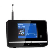 Auna Internetový rádiový adaptér auna iAdapt 320, WLAN, DAB/DAB+, FM/AM , TFT displej, čierny