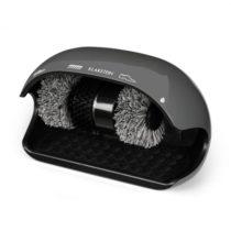Klarstein ShoeButler, čistič obuvi, 120 W, 3 kefy, šedý