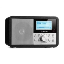 Auna Worldwide Mini, internetové rádio, WLAN, sieťový prehrávač, USB, MP3, AUX, FM tuner, čierna far...